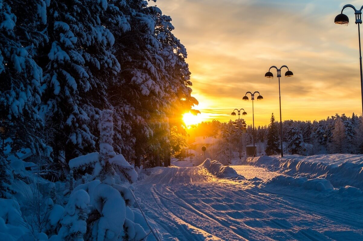 Levi, the Ski Resort Town of Lapland