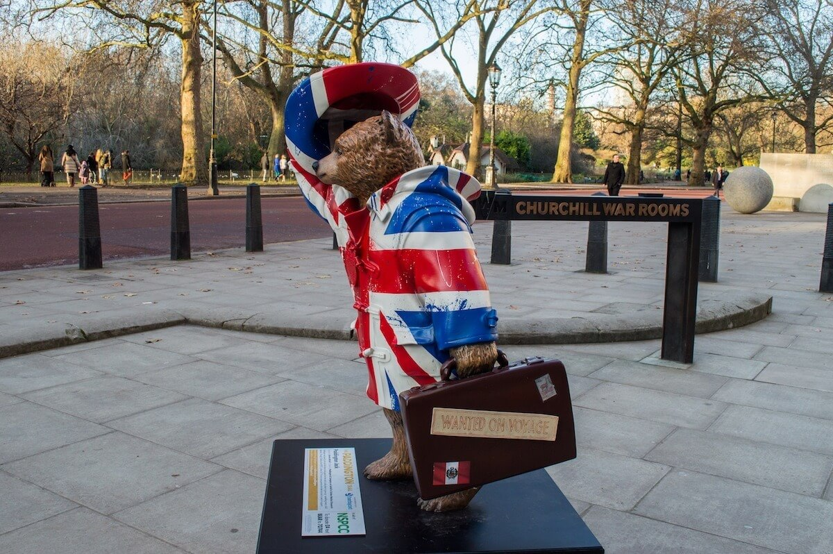 Paddington Trail at London