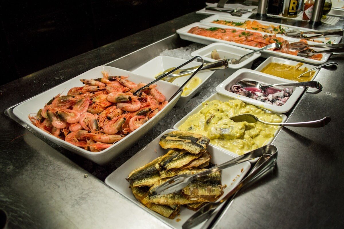 Tallink Silja Oy Buffet Lunch