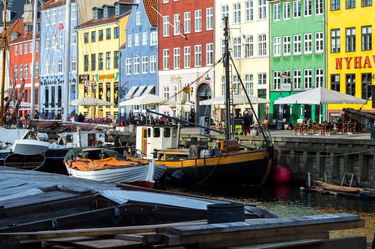The Nyhavn cannal of Copenhagen