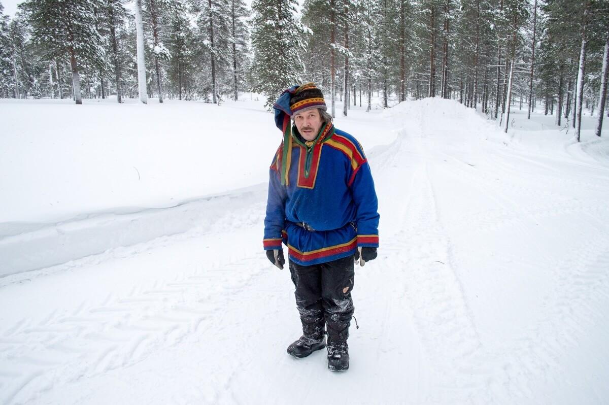 The Sami People of Saariselka