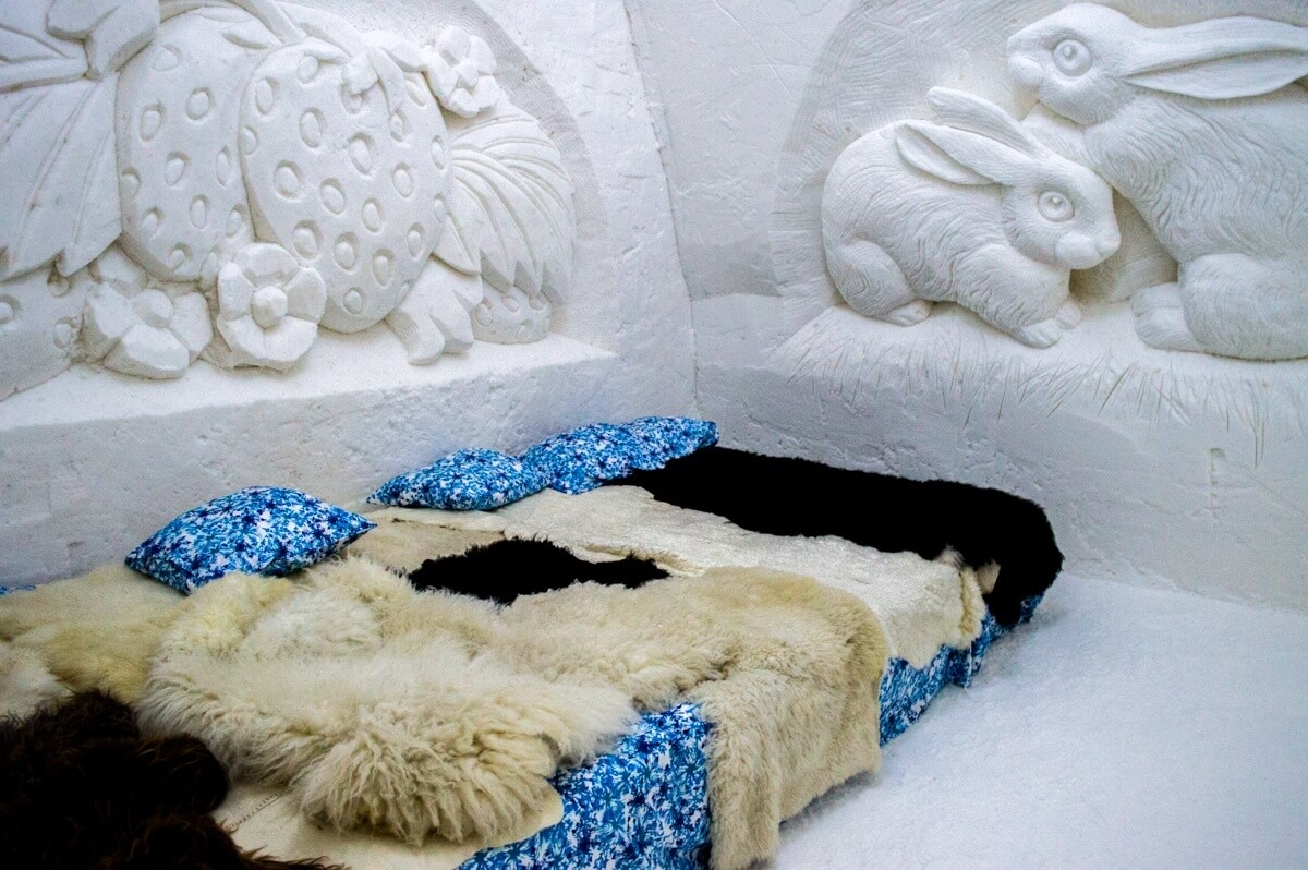 The Snow Rooms at Kemi Snow Castle