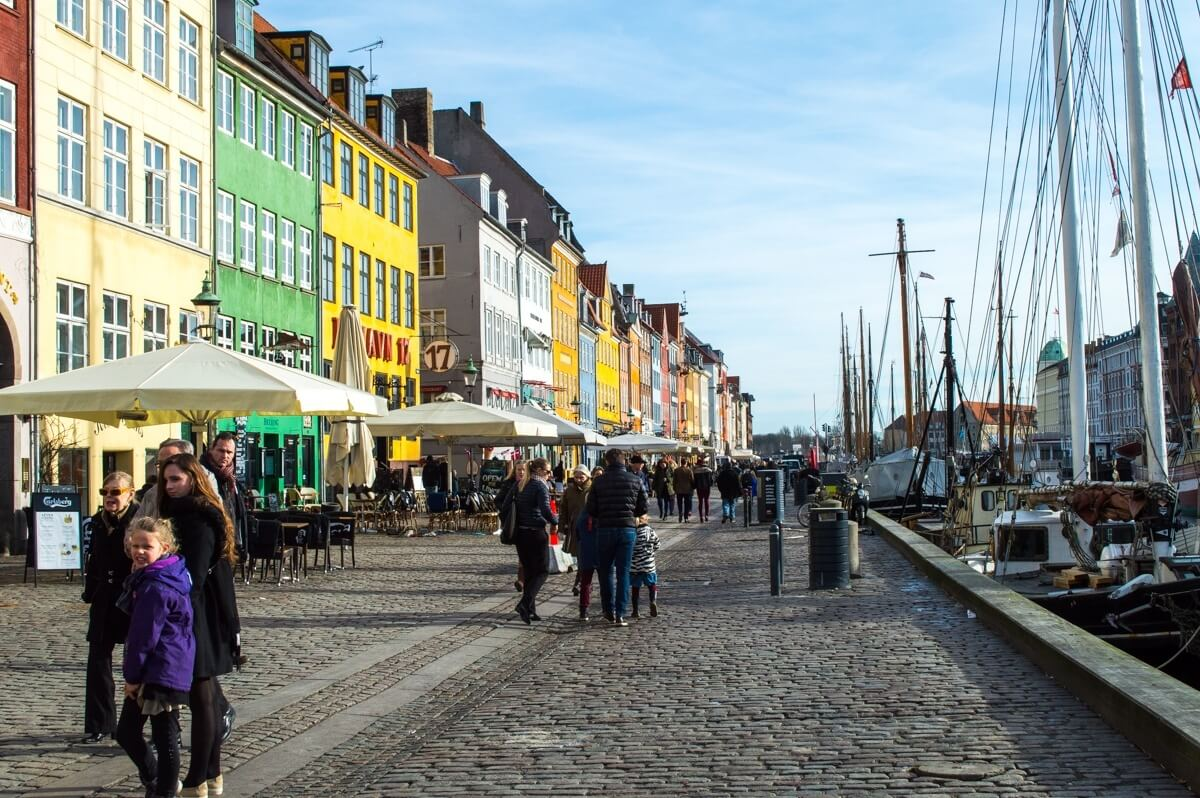 The most beautiful buildings of Copenhagen