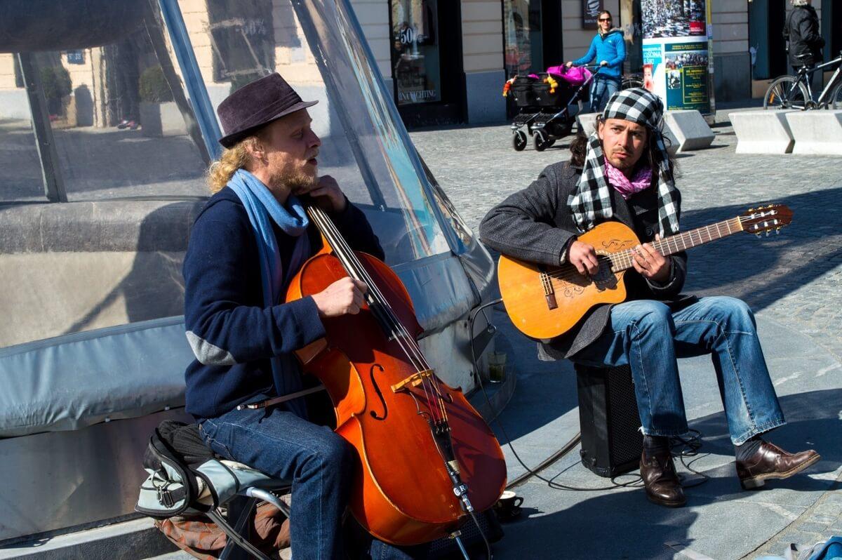 Musicians at Ljubljana
