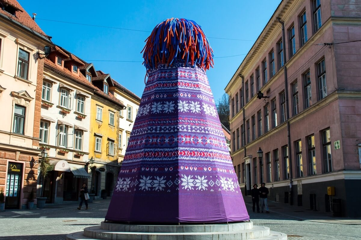 The quirkiness of Ljubljana