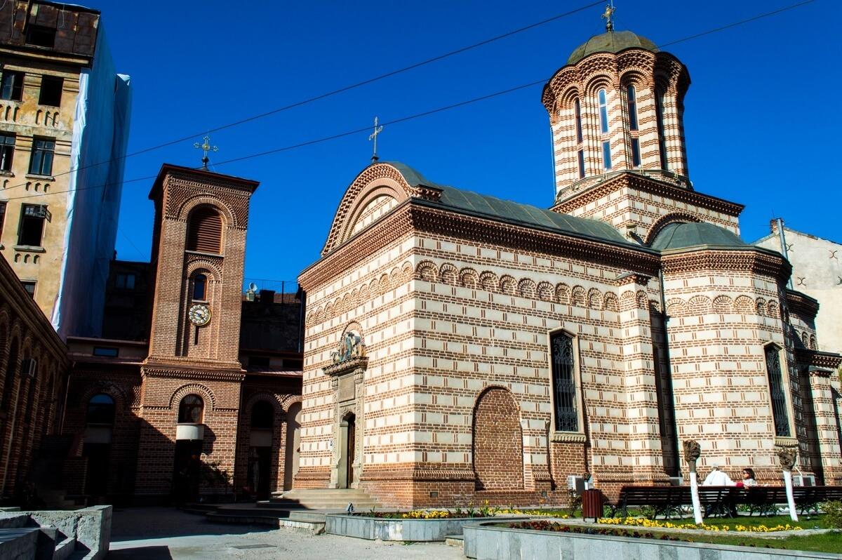 The Religious architectrue of Bucharest, Romania