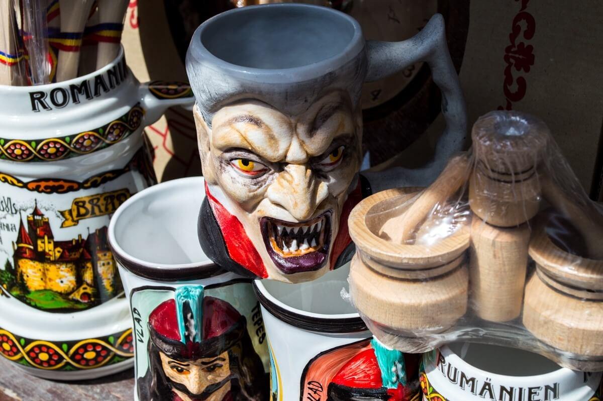 Vampire souvenirs from Transylvania