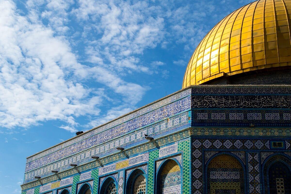 Morning at the Temple Mount, Jerusalem