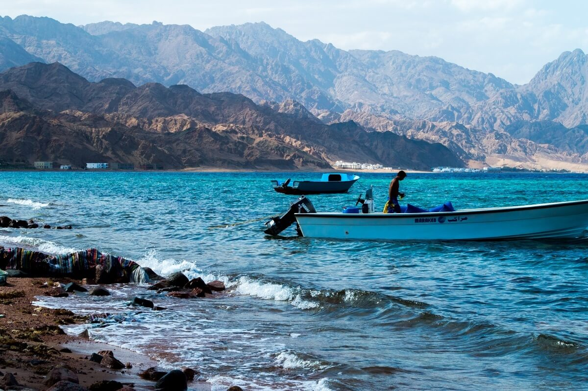 The Red Sea of Egypt, Taba