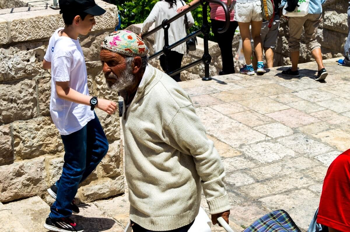 The local people of Jerusalem
