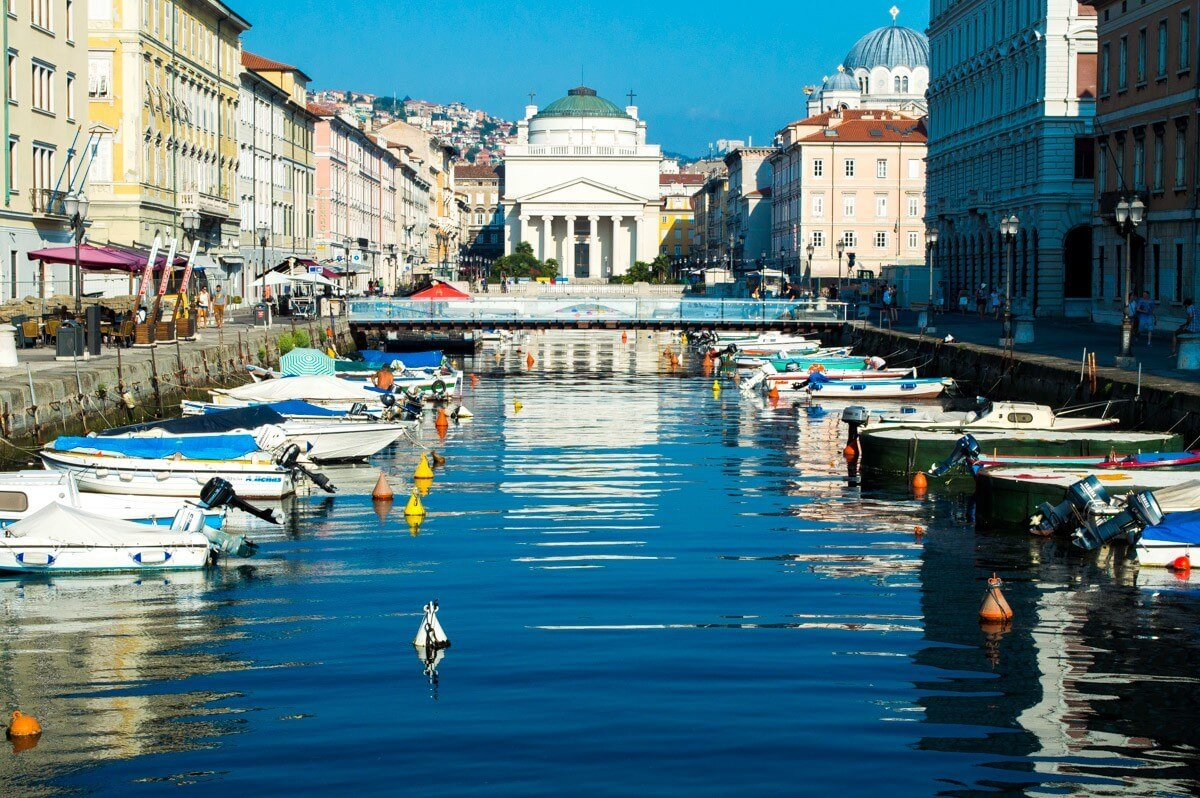 The off the beaten path city of Trieste
