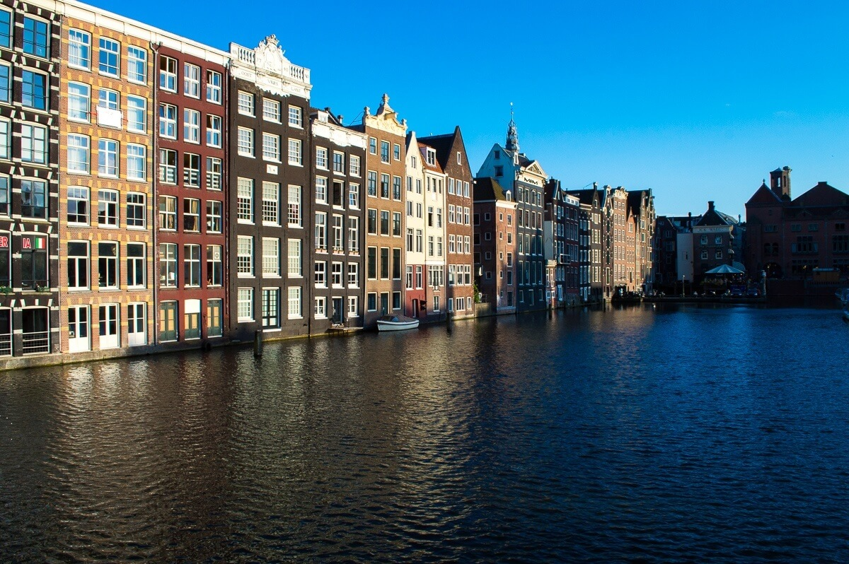 The Dutch arquitecture of Amsterdam