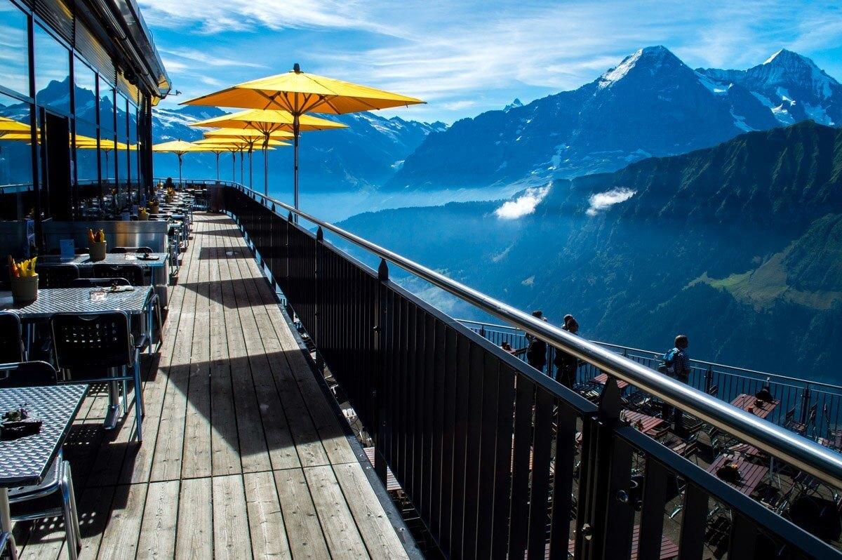 Traditional alpine restaurants
