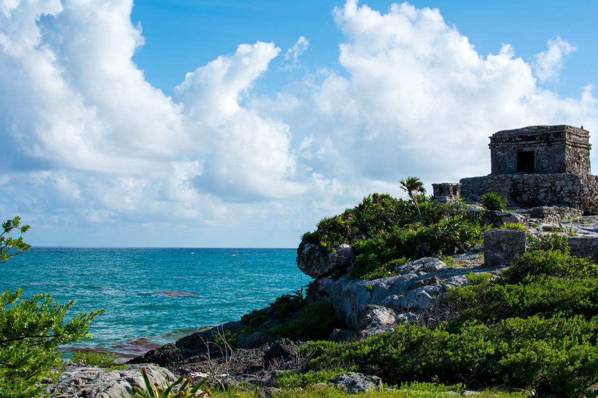 Breath taking view of Tulum