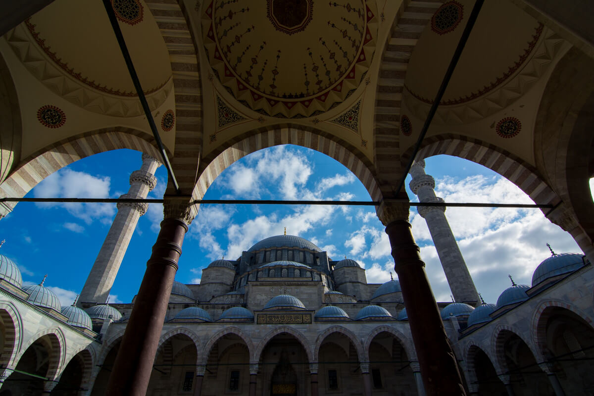 The mosques of Istanbul, Turkey