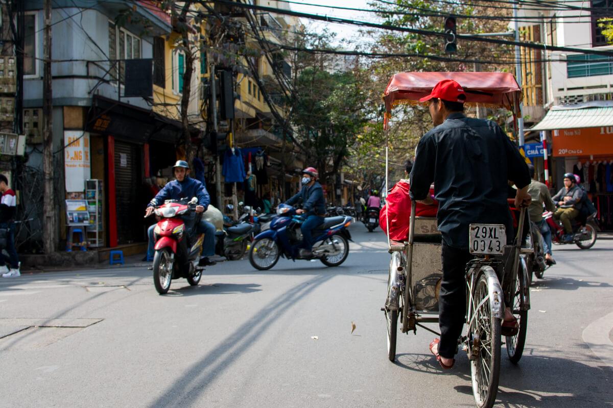 The urban madness of Hanoi Vietnam