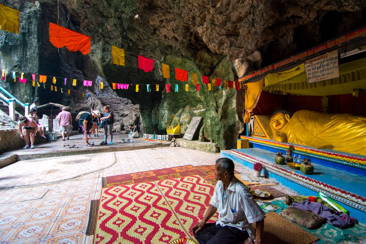 Sanctuary inside the Killing Caves of Battambang