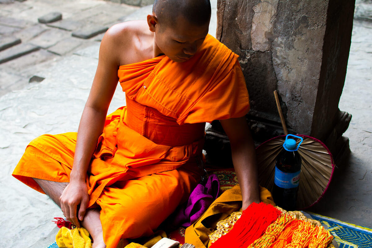 The soul of Angkor Wat in the eyes of a local