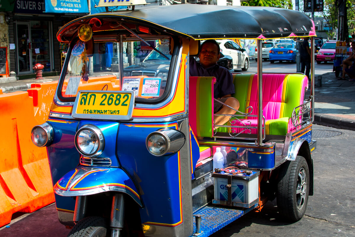 The Free Tuk-Tuk Scam of Bangkok