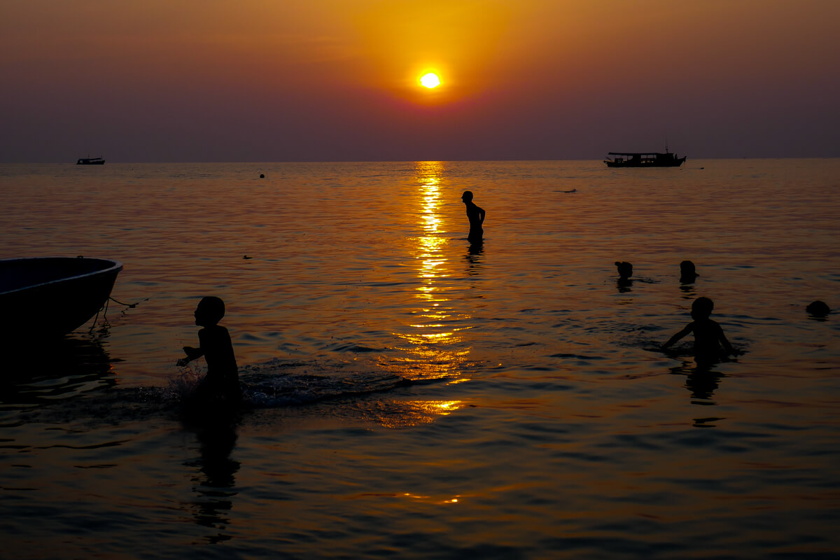 Songkran Sunset in Koh Tao