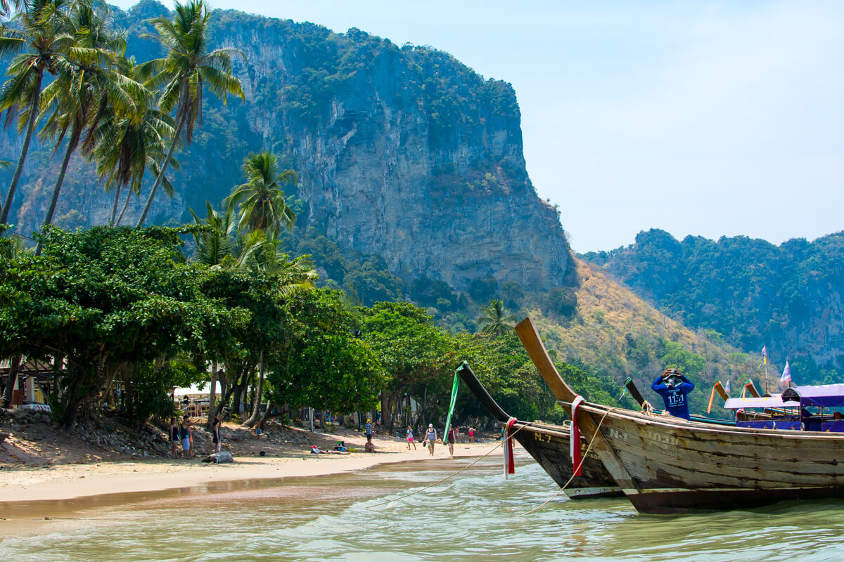 The fantastic landscapes of South Thailand