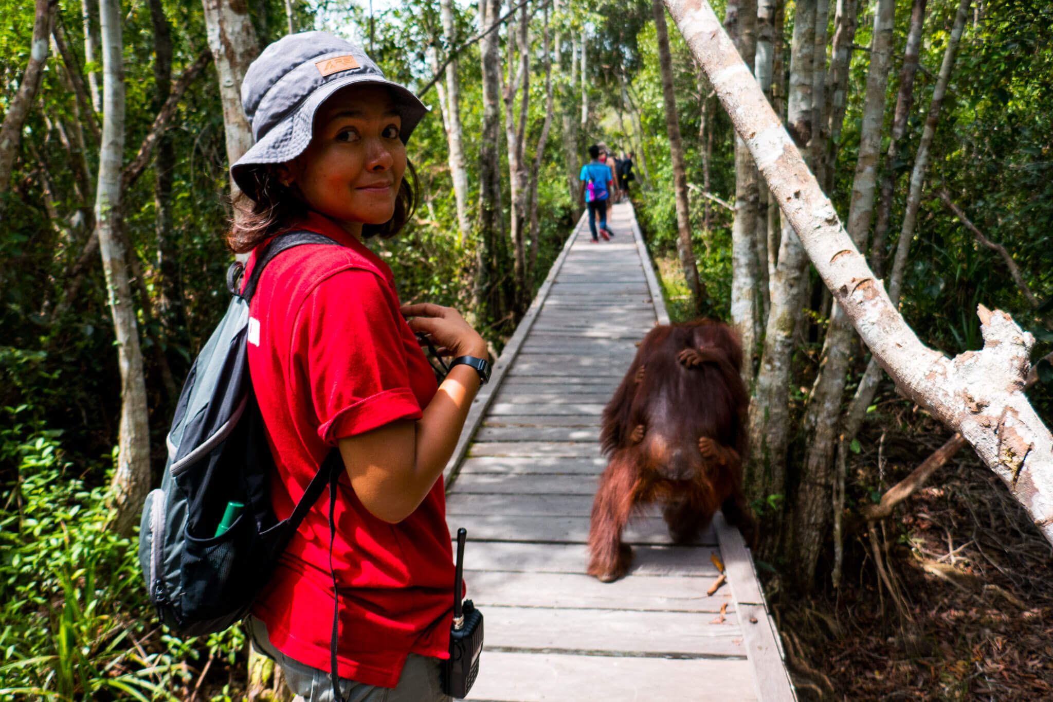 Camp Leakey in Tanjung Puting, Borneo
