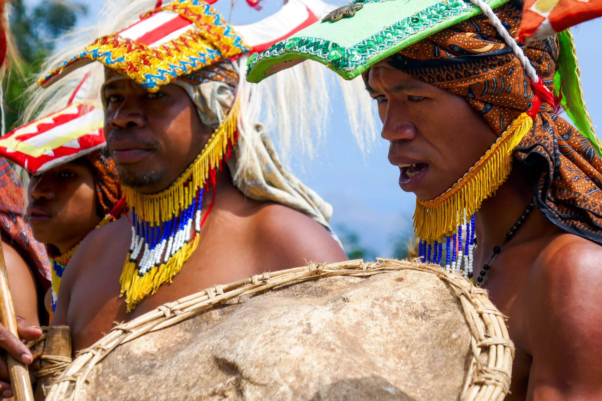 The Manggarai Warriors of Labuan Bajo. Komodo National Park