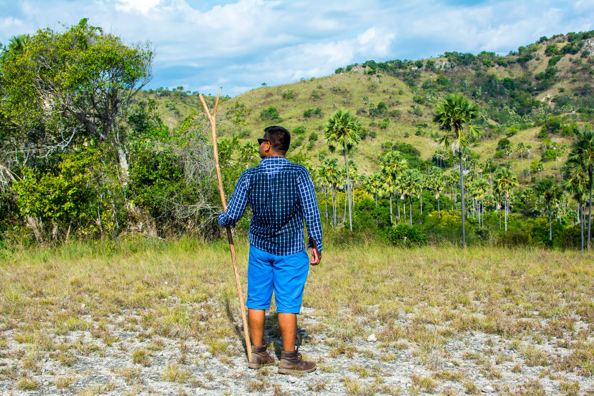 The Man of Wonders at Rinca Island Komodo National Park