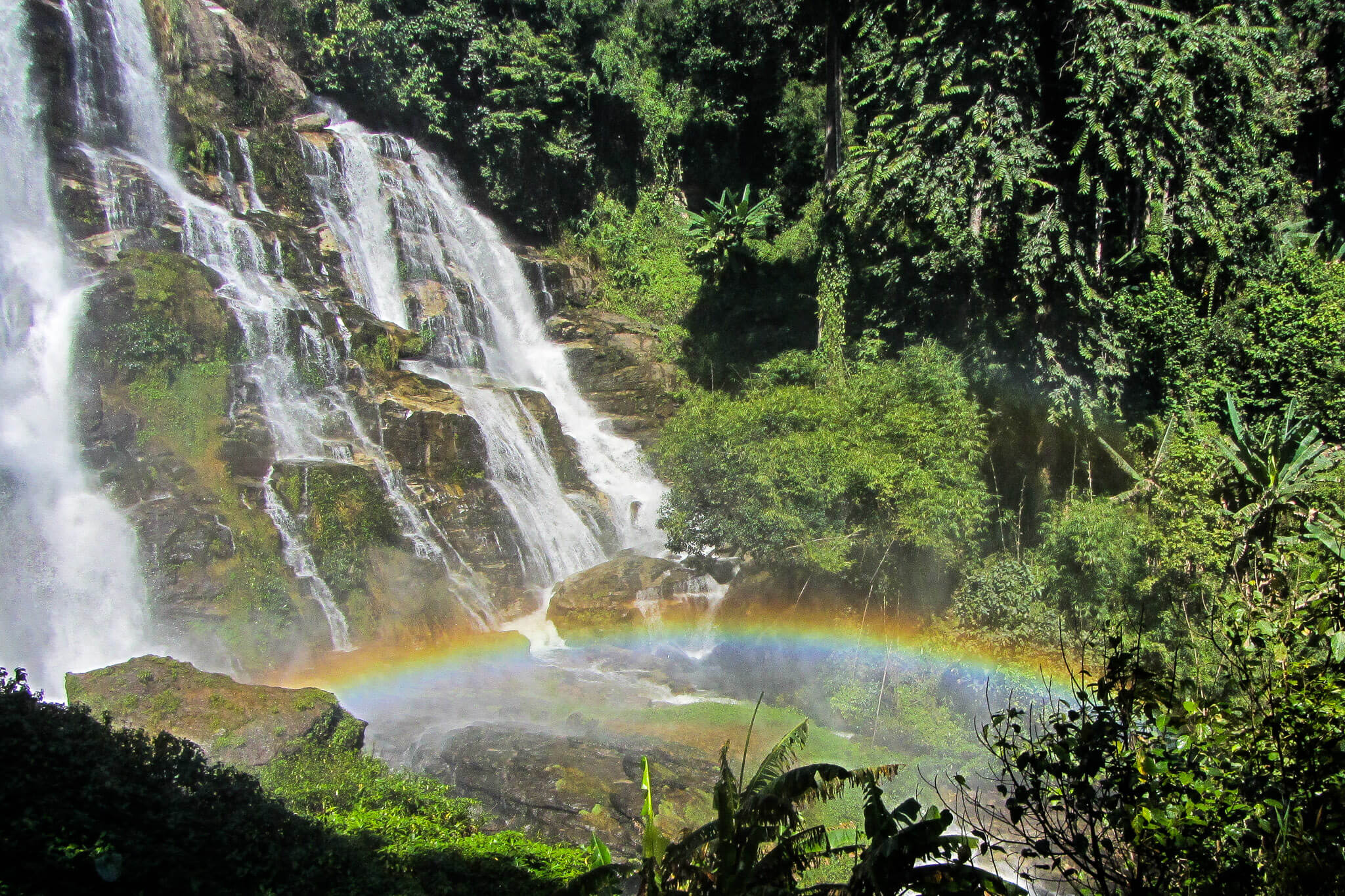 Waterfalls of Doi Inthanon outside of Chiang Mai